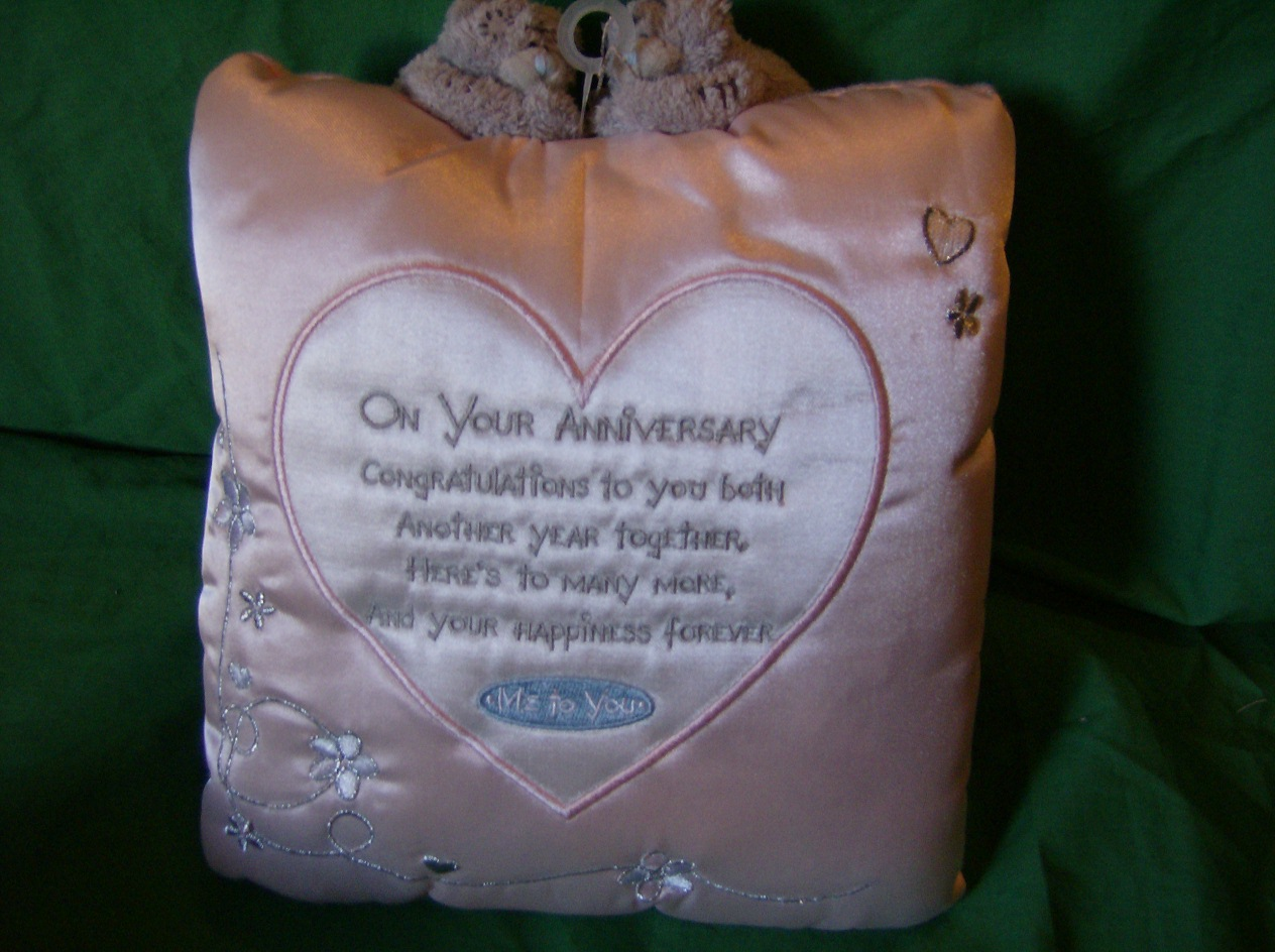 Me To You Wedding Gifts: Me To You Tatty Teddy Wedding Anniversary Cushion Pillow