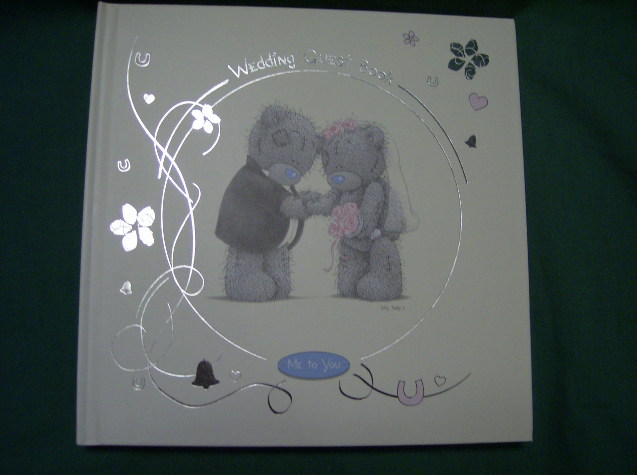 Me To You Wedding Gifts: Me To You Tatty Teddy Wedding Guest Book In Cream Wedding