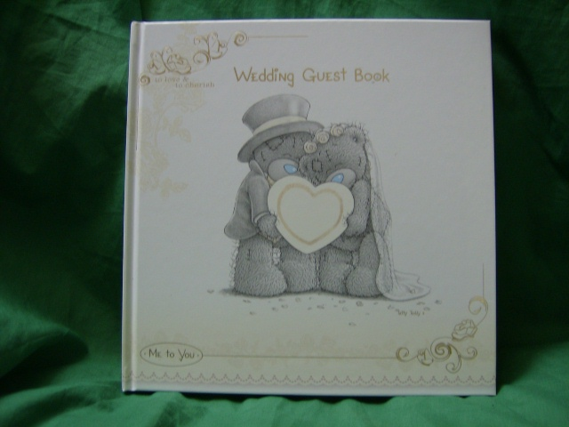 Me To You Wedding Gifts: Me To You Tatty Teddy Wedding Guest Book..in Cream And