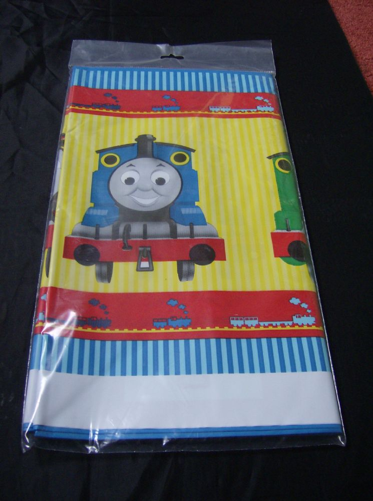 thomas and friends plasic tablecover. Black Bedroom Furniture Sets. Home Design Ideas