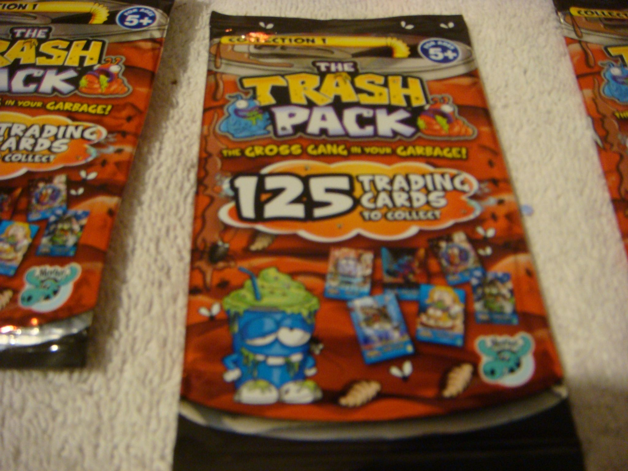 Collection 1 The Gross Gang In Your Garbage The Trash Pack Trading Card Game
