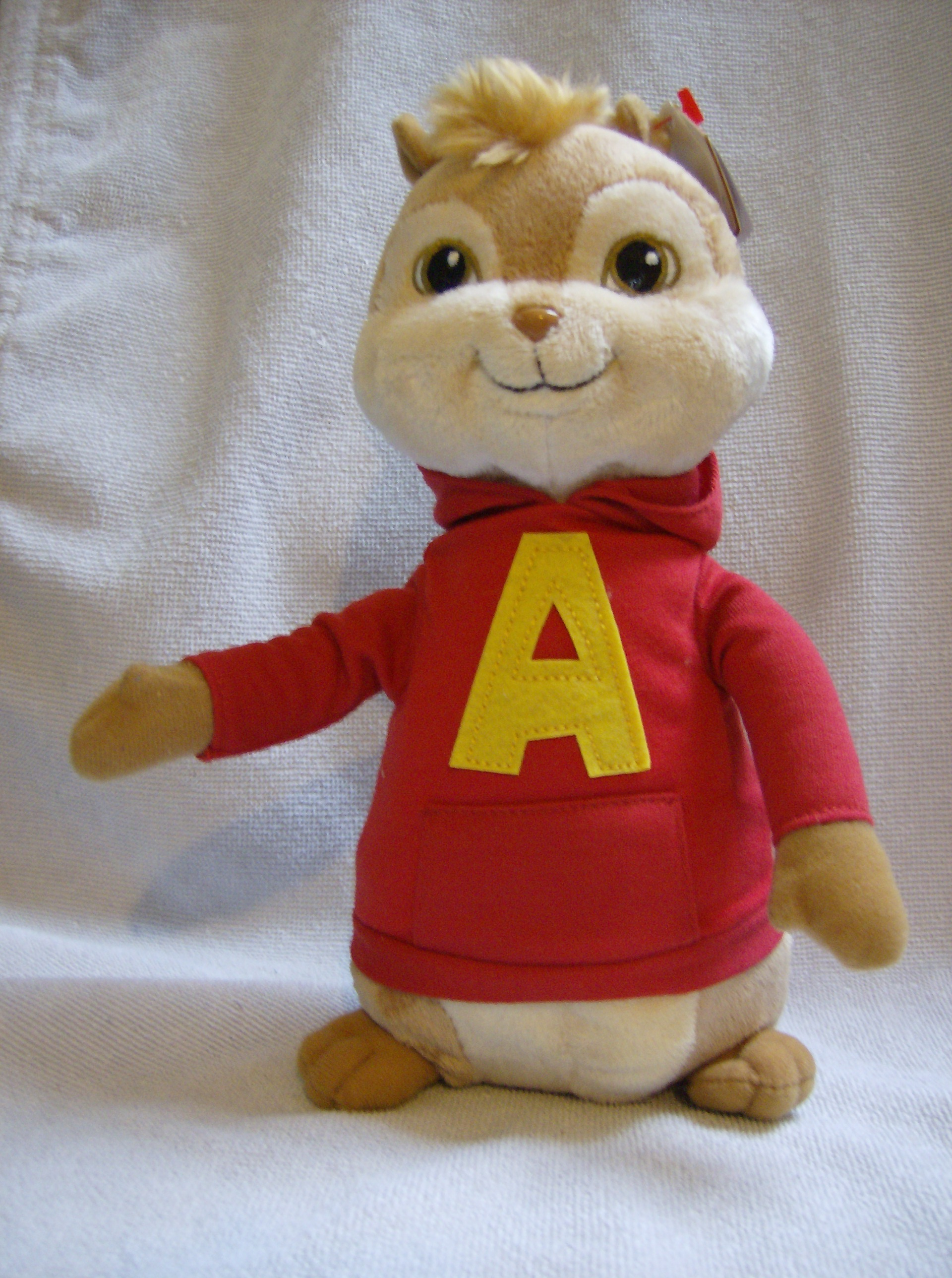 Ty Beanie Babies 9inch Plush Alvin Amp The Chipmunks Alvin
